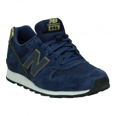 blauwe new balance sneakers