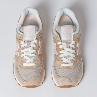 new balance 574 beige pink beach cruiser exclusive
