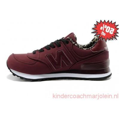 new balance 574 dames bordeau rood