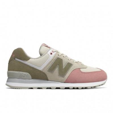 new balance 574 pink beige