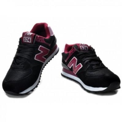 new balance 574 roze zwart