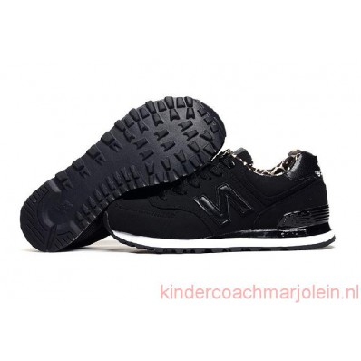 new balance 574 zwart dames