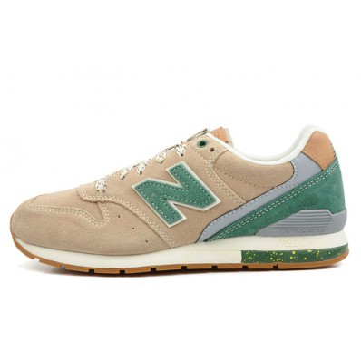 new balance 996 beige green