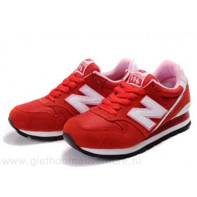 new balance 996 dames rood