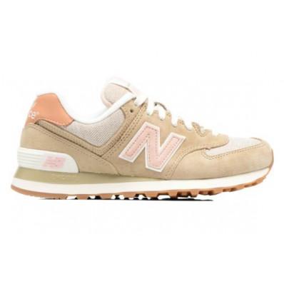 new balance beige et rose 574