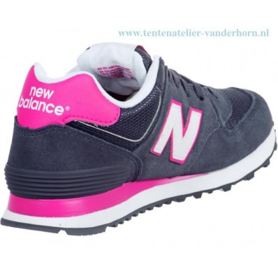 new balance dames grijs roze