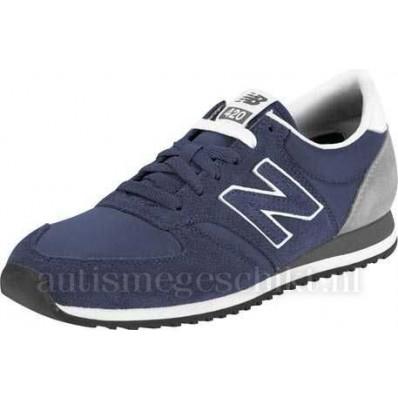new balance dames u420 blauw