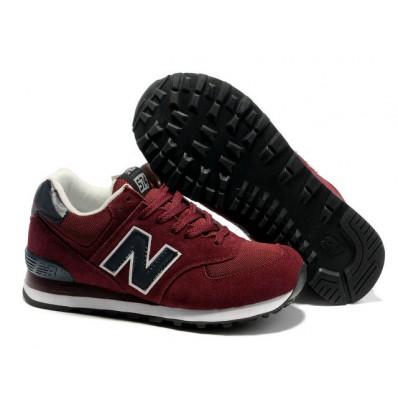 new balance donker rood