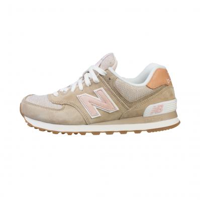 new balance femme 574 beige et rose
