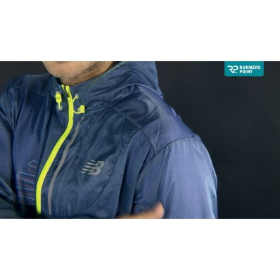 new balance lite packable jacket dames