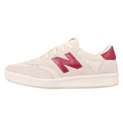 new balance red beige