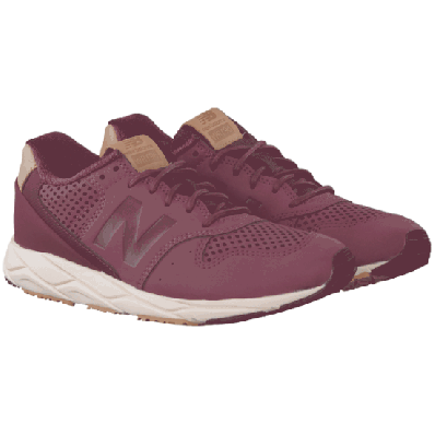 new balance rood dames