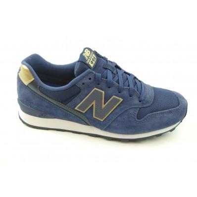 new balance sneaker dames blauw
