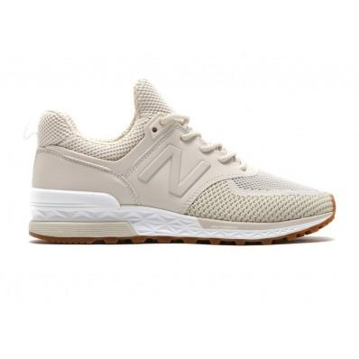 new balance sneakers dames beige