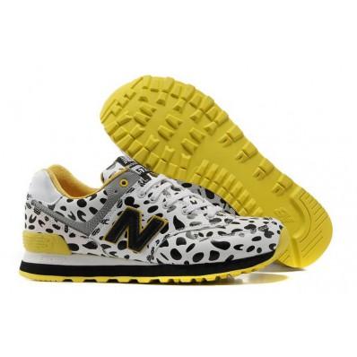 new balance sneakers dames geel