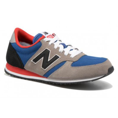 new balance u420 blauw grijs