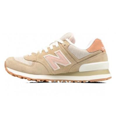 new balance wl574 beige femme