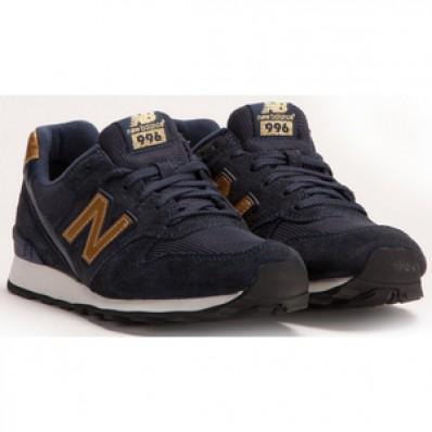 new balance wr996 blauw goud
