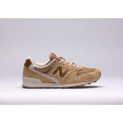 new balance wr996 sneaker beige gold suede