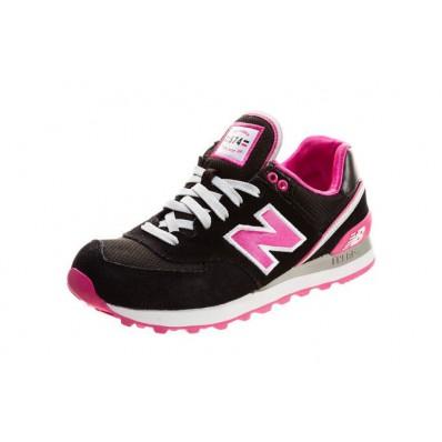 new balance zwart roze