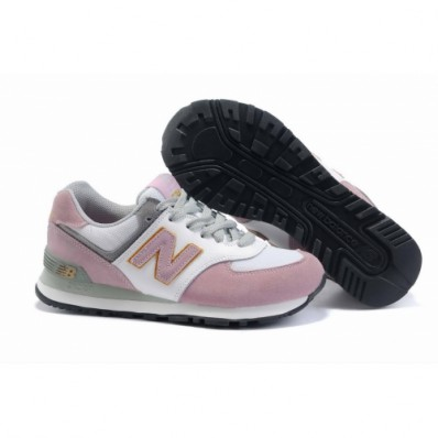 roze new balance sneakers dames