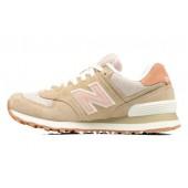 new balance 574 femme beige rose