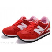 new balance 996 dames rood
