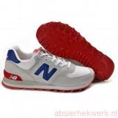 new balance dames blauw rood