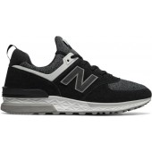 new balance sneakers 574 dames leer