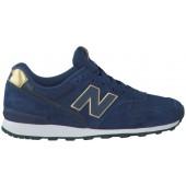 new balance sneakers dames blauw