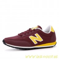 new balance dames bordeaux rood u410