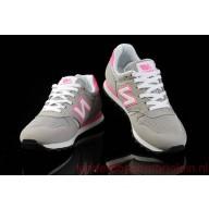 new balance dames grijs met roze