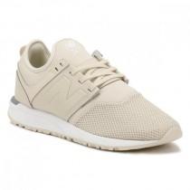 beige new balance trainers