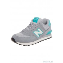 new balance grijs met blauw