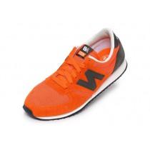 new balance grijs oranje