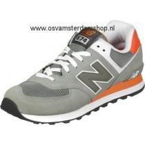 new balance ml574 schoenen zwart