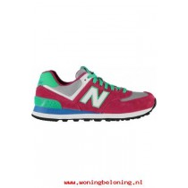 rode new balance sneakers wr996 dames