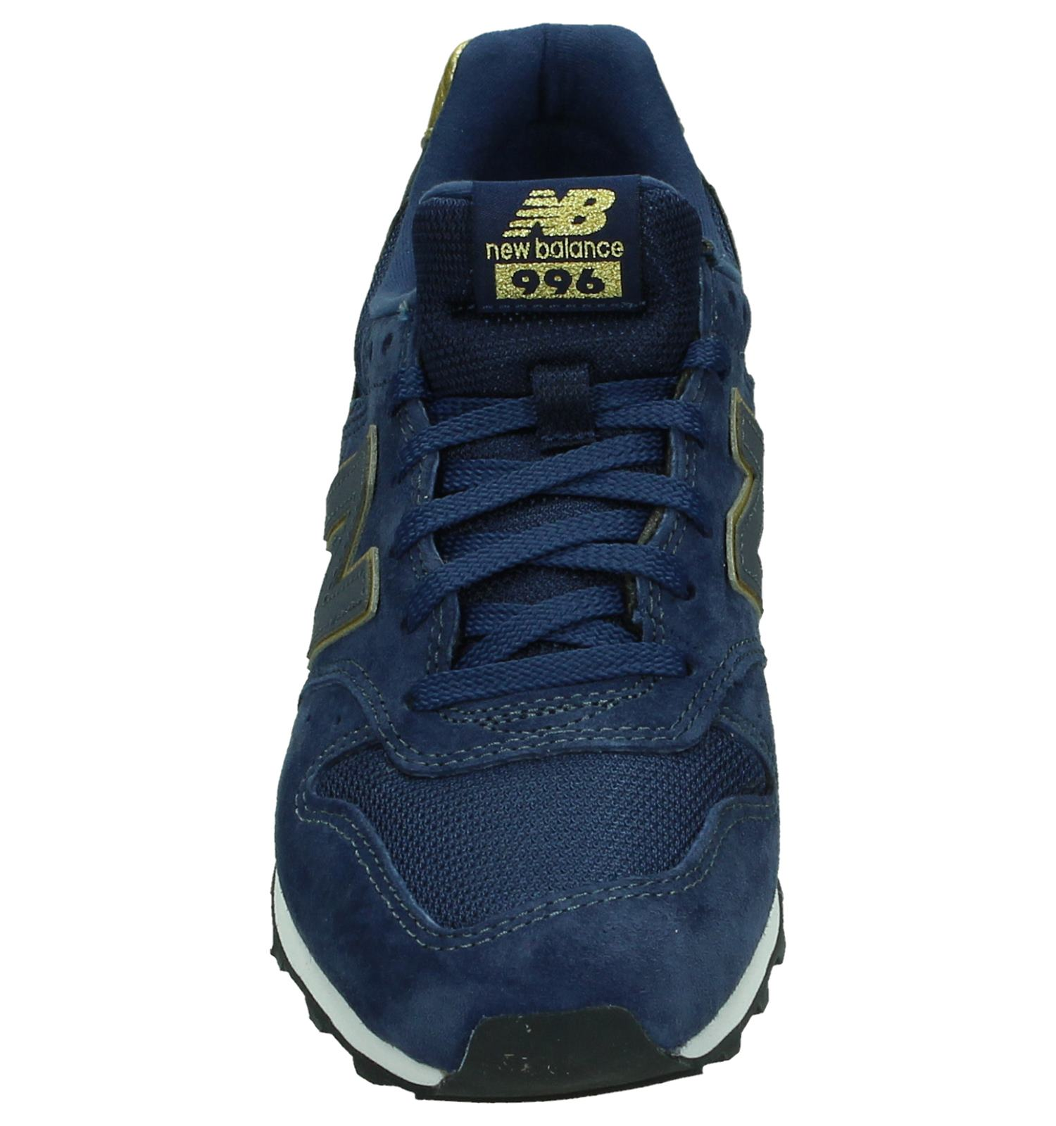 blauwe new balance sneakers wr996 dames
