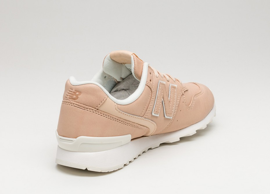 new balance leather beige