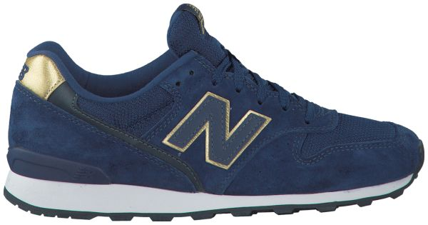 new balance sneakers dames blauw